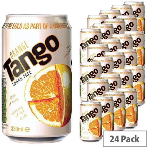 Tango Diet Soft Drink Can 330ml (Pack 24) A01098