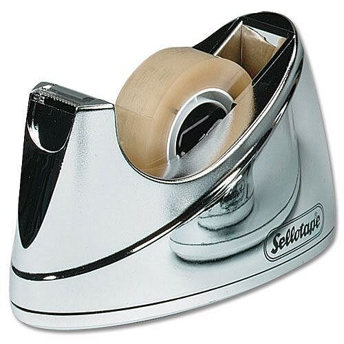 Sellotape Dispenser Chrome
