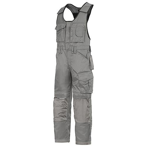"""Snickers 0312 Craftsmen One-piece Trousers DuraTwill Size 250 35""""/6'6"""" Grey"""