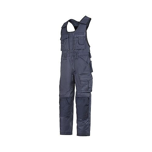 """Snickers 0312 Craftsmen One-piece Trousers DuraTwill Size 250 35""""/6'6"""" Navy"""
