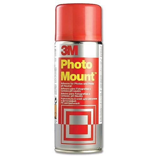 3M Photo Mount Adhesive Spray Can 400ml PMOUNT