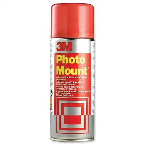 3M PhotoMount Spray High Strength Adhesive 400ml PHMOUNT