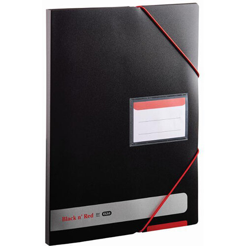 Black n Red by Elba A4 Polypropylene Covered Display Book Opaque - OFFER Buy One Get One FREE Jan - Dec 2019 Ref 400050725-XX3