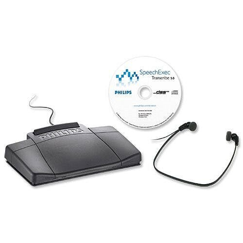 Philips Speech Exec Transcription Kit 7177