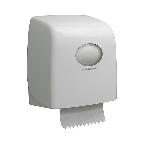 Kimberly Clark Aquaris Slim Roll Hand Towel Dispenser White 6953