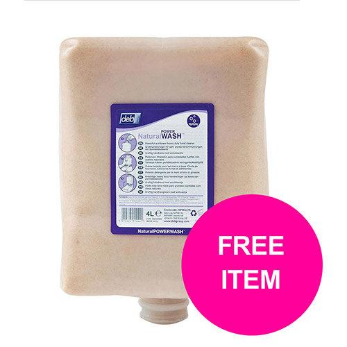 DEB Limewash Hand Soap Refill Cartridge 4 Litre Ref N03862&OC Disp (Free Dispenser)