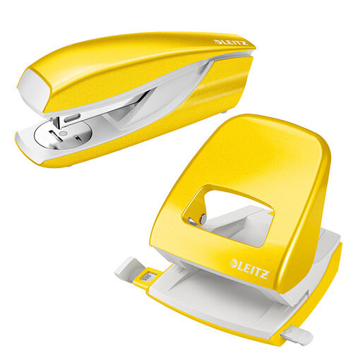 Leitz NeXXt 30 Sheet Stapler Yellow Ref 55021016 (FREE Leitz NeXXt Hole Pnch 30 Sh Yellow) Jan-Mar 20