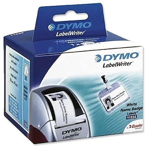 Dymo 11356 LabelWriter Labels Name Badge 89x41mm Pack 300