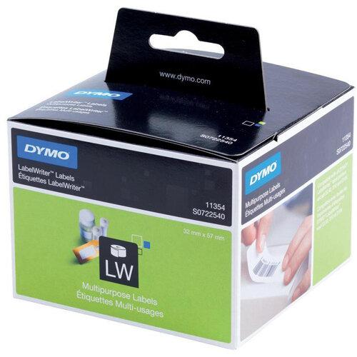 Dymo LabelWriter Labels Multipurpose White Ref 11354 S0722540 Pack 1000