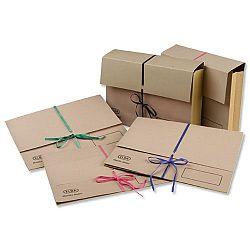 Deed Legal Wallet Foolscap Buff Capacity 76mm Pack 25 Elba