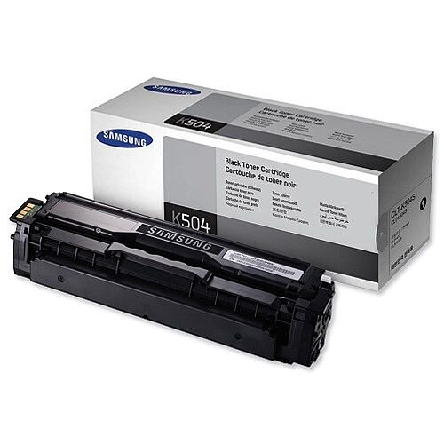 Samsung CLT-K504S Black Laser Toner Cartridge
