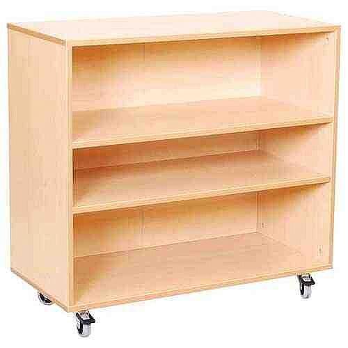 Cabinet - 2 shelves with Castors