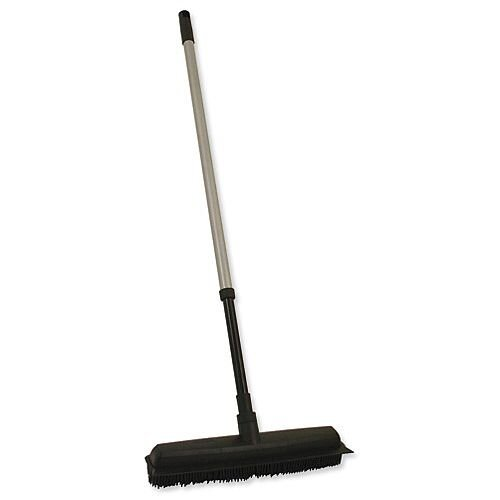 Bentley Rubber Broom and Squeegee with Telescopic Handle