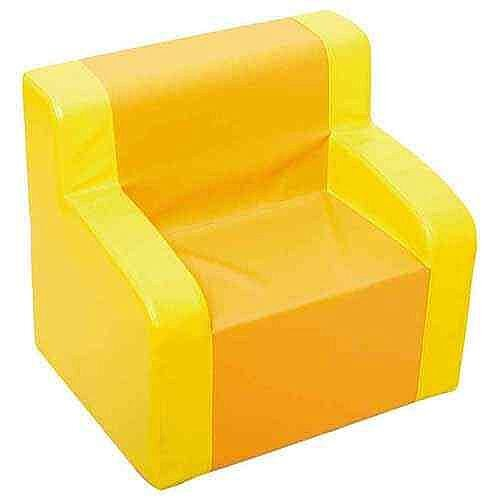 Yellow/Orange Armchair