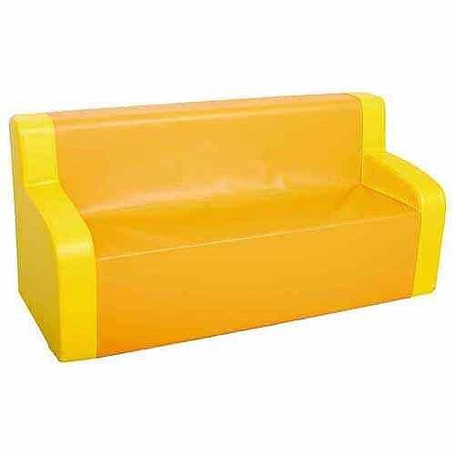 Yellow/Orange Sofa