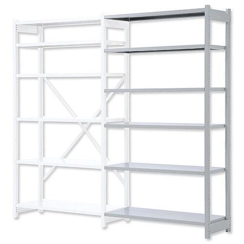 Bisley Shelving Extension Bay Metal Extra Depth 1018EEXK40