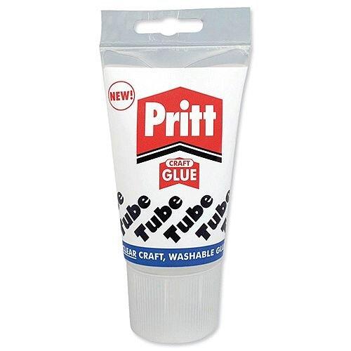 Pritt PVA Glue Transparent Washable 135ml Ref 830199