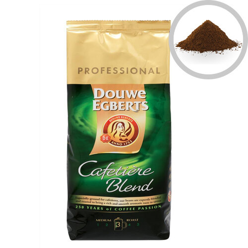 Douwe Egberts Roast & Ground Cafetiere Blend Coffee 1kg Ref 536700