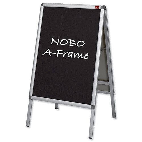 Nobo Blackboard Insert for Clip A Frame A1 [Pack 2]