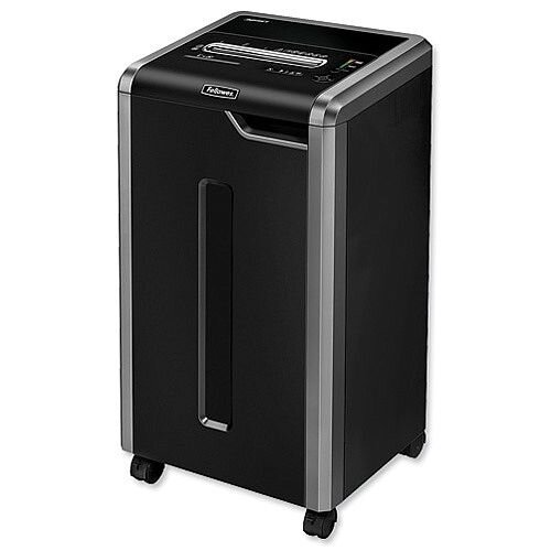 Fellowes 325Ci Shredder Cross Cut DIN P-4 Security Level Ref 4632101