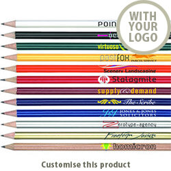 Standard NE Pencil 103110535 - Customise with your brand, logo or promo text