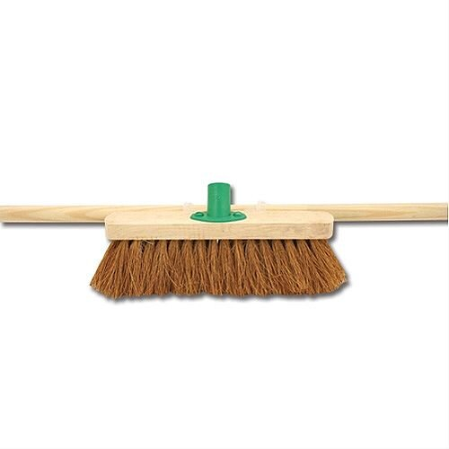 Bentley 305mm Soft Coco Broom with Handle &Bracket