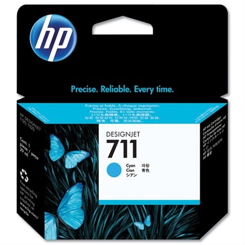 HP 711 Cyan Inkjet Cartridge 29ml CZ130A