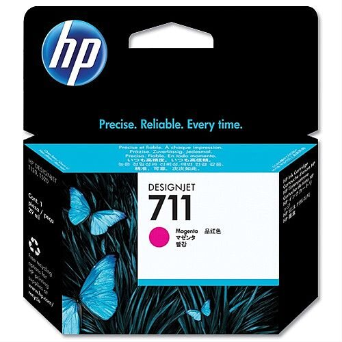 HP 711 Magenta Inkjet Cartridge 29ml CZ131A