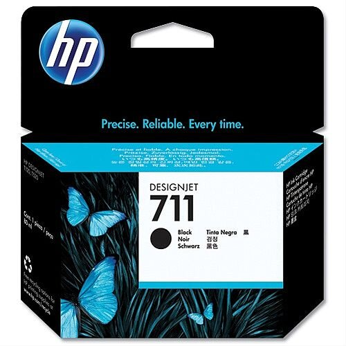 HP 711XL Black Inkjet Cartridge 80ml CZ133A