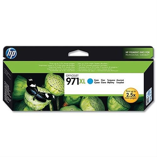 HP 971XL Cyan Inkjet Cartridge CN626AE