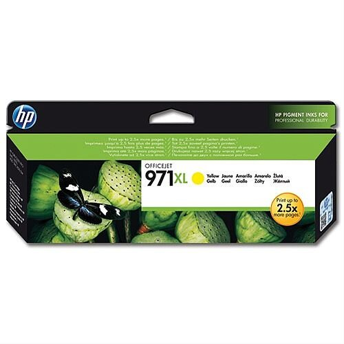 HP 971XL Yellow Inkjet Cartridge CN628AE