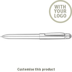 Treble Multifunction Twist-Action Pen 1046421 - Customise with your brand, logo or promo text
