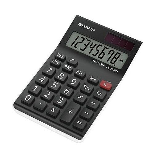 Sharp EL310ANWH Calculator Desktop