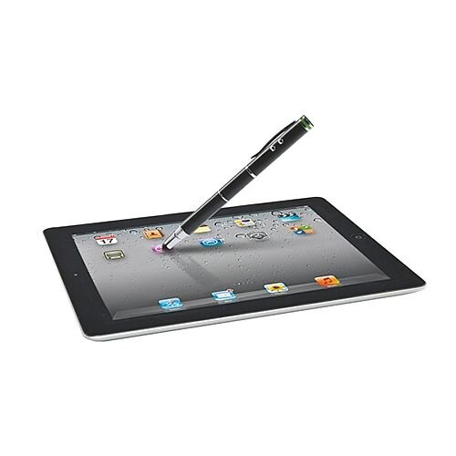 Leitz Complete 4 in 1 Stylus For Touchscreen Devices Black