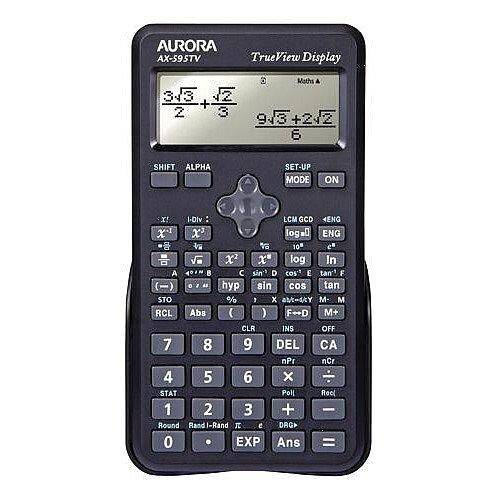 Aurora AX-595TV Calculator Scientific Black