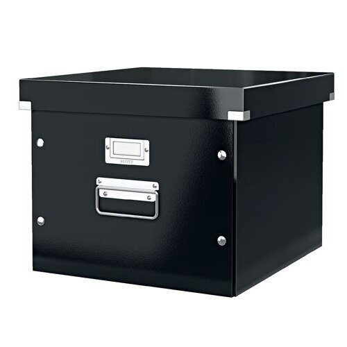 Leitz Click and Store Archive Box For A4 Suspension Files Black Ref 60460095