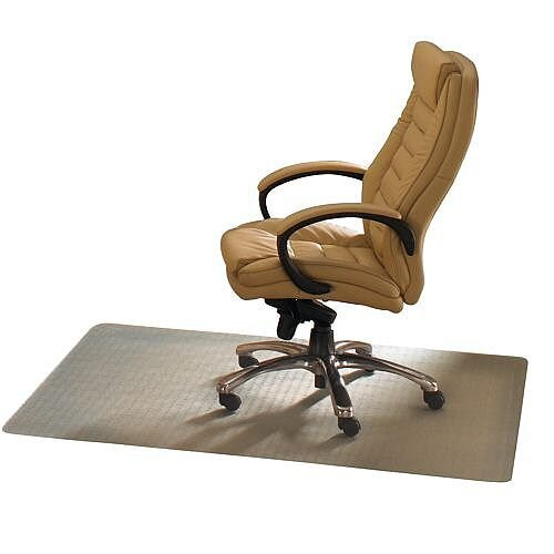 Ecotex Revolutionmat Chair Mat For Carpet Rectangular 1200x900mm Clear Ref FCECO113648EP