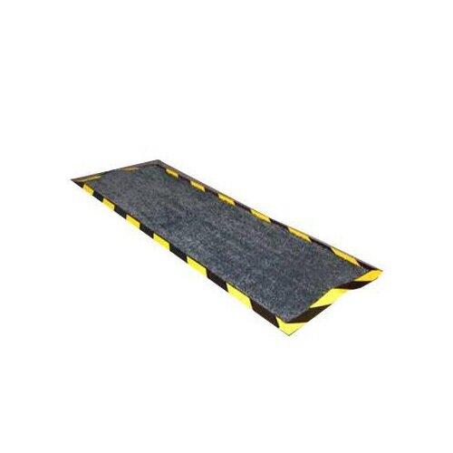 Floortex Kablemat Rubber Backing Black 400x1200mm Ref FCKAB40120