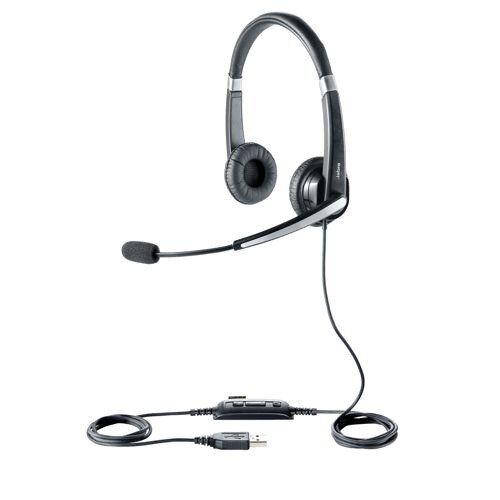 Jabra Voice 550 USB UC Duo Padded Headset 45123