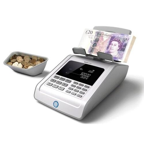 Safescan 6185 Coin and Banknote Counter