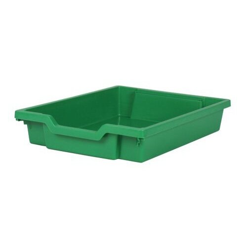 Gratnells Shallow Tray Green 75mm Deep GTS-R