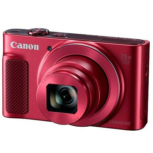Canon PowerShot SX620 HS - 20.2 Megapixel - Optical zoom 25x - Digital zoom 4x Red