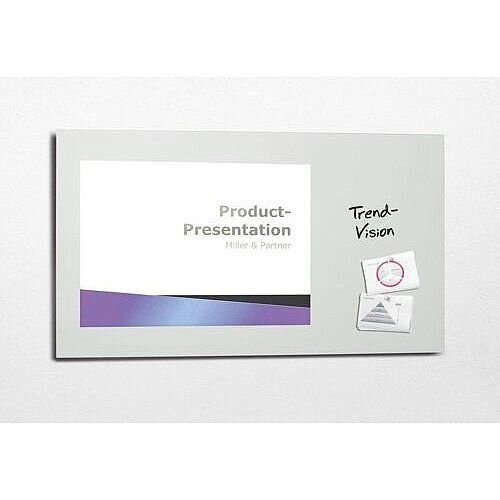 Sigel Artverum High Quality Tempered Glass Magnetic Projection Board 1600x1200mm White