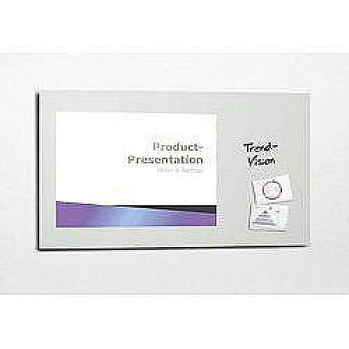 Sigel Artverum High Quality Tempered Glass Magnetic Projection Board 1960x1100mm White