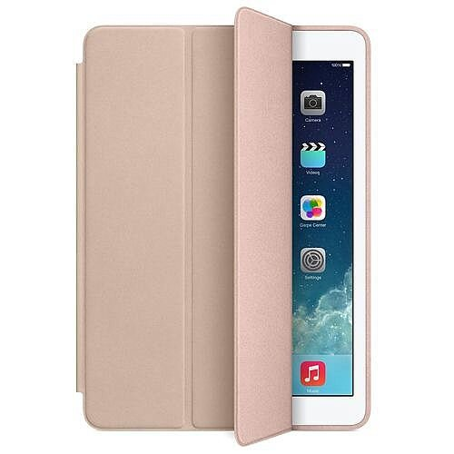 e5033c056a5 Apple iPad Air Smart Case Leather Beige Ref MF048ZM/A - HuntOffice.ie