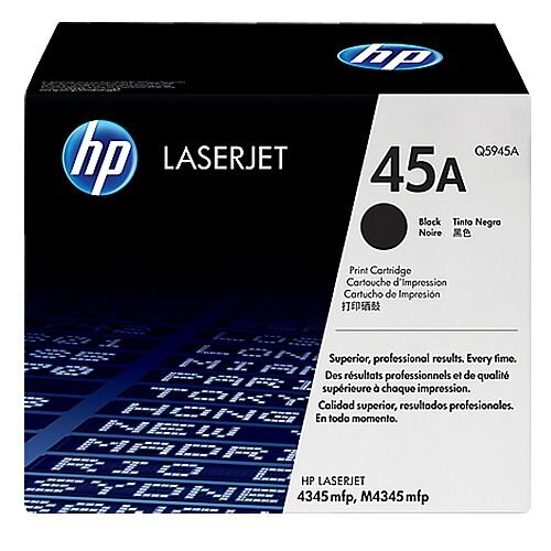 HP 45A Black LaserJet Toner Cartridge Q5945A