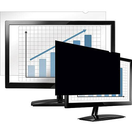 "Fellowes 19"" Black Privacy Filter 4:3"