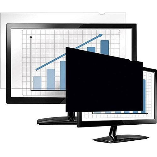 "Fellowes 20.1"" Black Privacy Filter 4:3"
