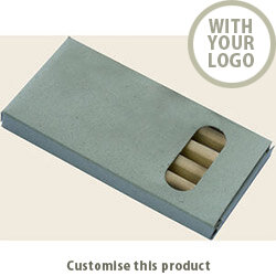 """Wooden crayons """"Minnie"""" 113406 - Customise with your brand, logo or promo text"""