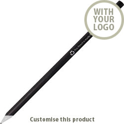 RECYCLED PENCIL 117795 - Customise with your brand, logo or promo text